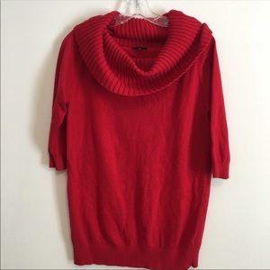 Express Sweater - Cowl Neck / Off Shoulder